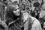 Актриса Жанна Прохоренко всцене изфильма «Они шли наВосток», 1963 год