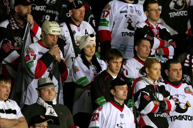 Безрадостные болельщики из Челябинска