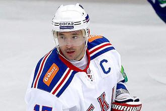 Капитан СКА начал забивать в Ханты-Мансийске