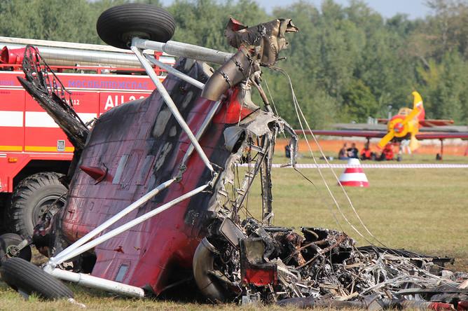 Самолет Ан-2 разбился в Балашихе во время показательного полета на авиашоу