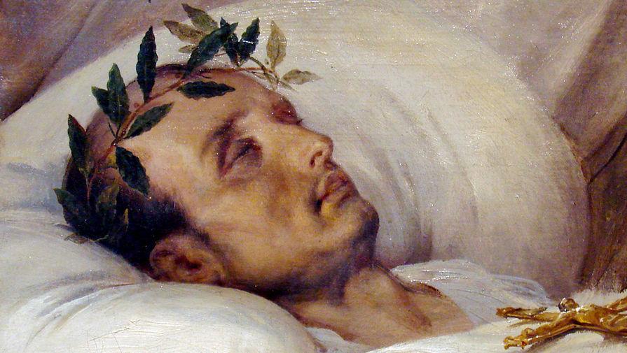 Фрагмент картины «Наполеон на смертном одре»