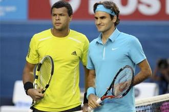 Роже Федерер и Жо-Вильфред Тсонга сыграют в финале итогового турнира ATP