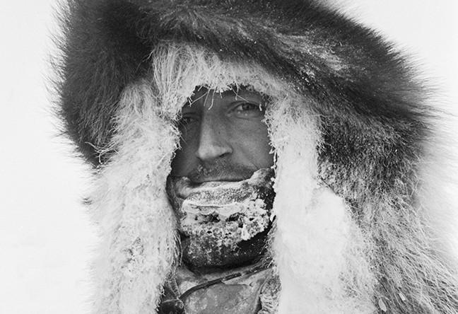 Федор Конюхов во время советско-канадской арктической лыжной экспедиции, 1988 год
