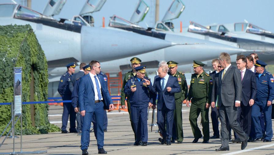 МиГ с «Кинжалами»: Путину показали новое оружие