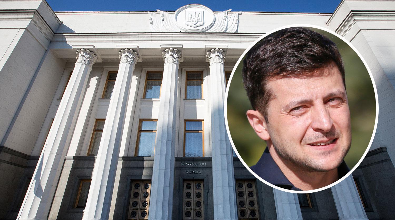 В штабе Зеленского отреагировали на роспуск Рады