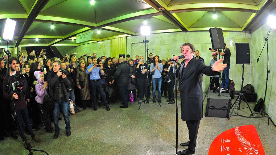 Концерты в метро станут легальными