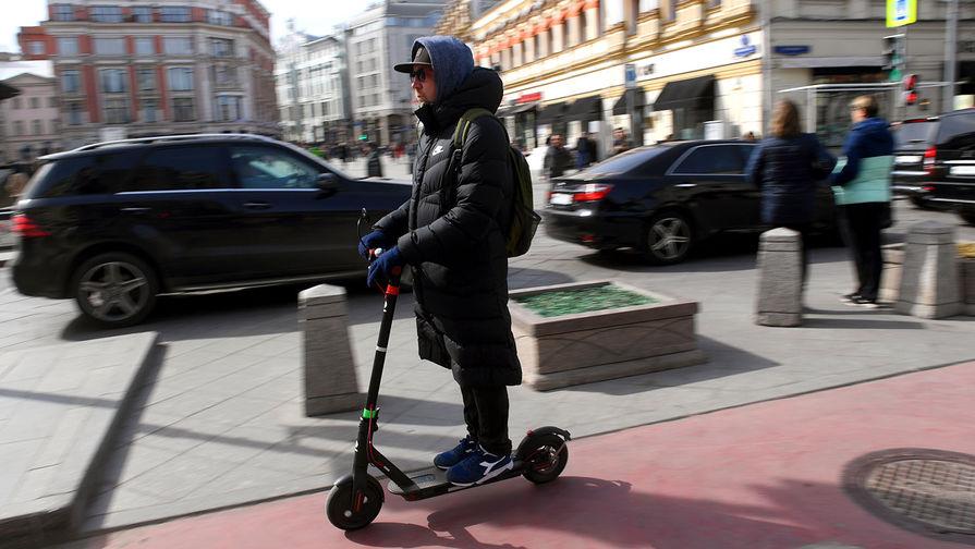 Число ДТП с электросамокатами в России выросло почти на 200%
