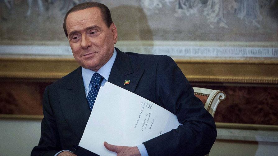 Берлускони госпитализировали в Монако