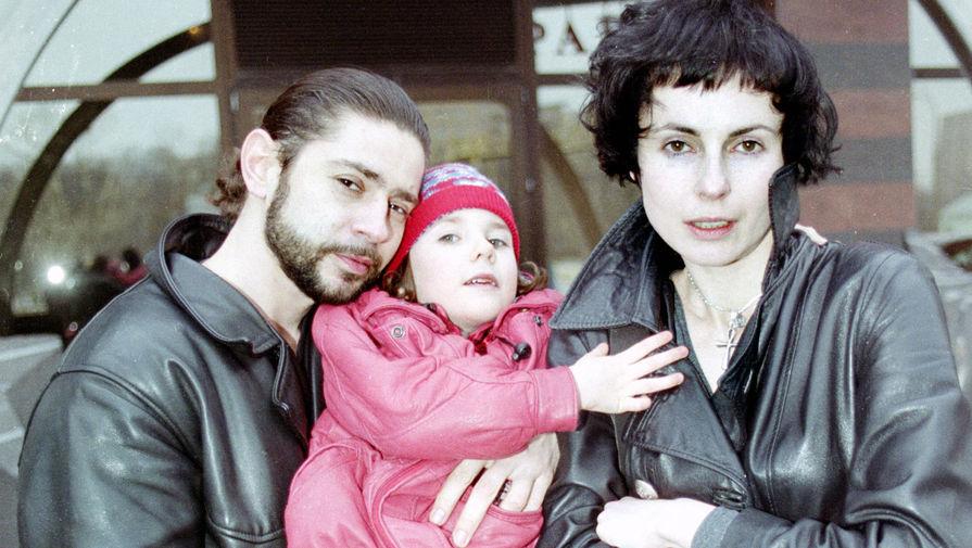 Бывшие супруги, актеры Ирина Апексимова и Валерий Николаев с дочерью Дашей