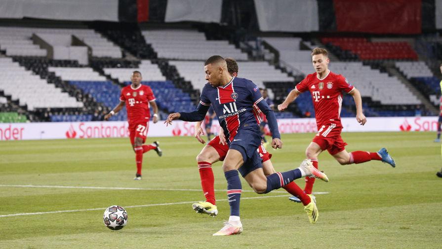Эпизод матча «ПСЖ»- «Бавария»
