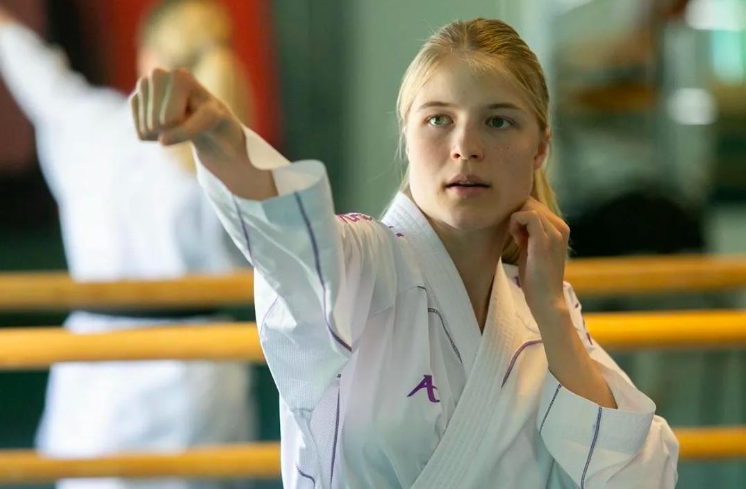 Российская каратистка Анна Чернышева