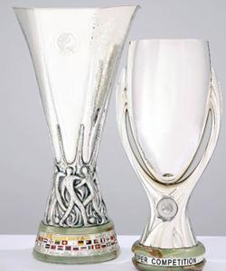 Кубок УЕФА - чаша, изготовленная в Италии по проекту...