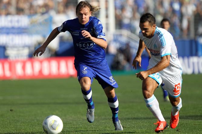 Милоша Красича в дебютном матче за «Бастию» жала нулевая ничья с «Марселем»