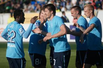 Артем Делькин на последних минутах забил победный гол в ворота «Волги»