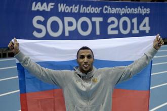 Российский чемпион мира по легкой атлетике Люкман Адамс