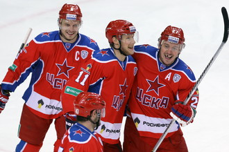ЦСКА снова на вершине