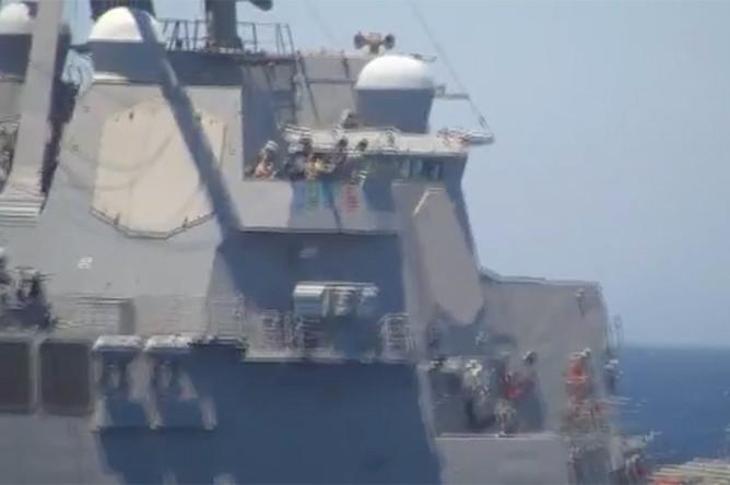 Американский эсминец Gravely