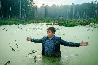 Челябинский школьник в болоте. Популярный мем 2016 года