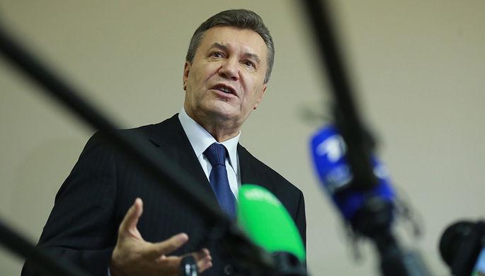Бывший президент Украины Виктор Янукович, декабрь 2016 года