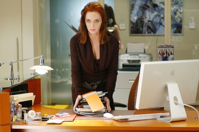 Кадр из фильма «Дьявол носит Prada» (2006)