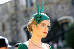 Леди Китти Спенсер насвадьбе принца Гарри и Меган Маркл вВиндзоре, 19 мая 2018 года
