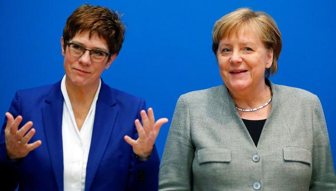Поражение канцлера: преемница Меркель покидает пост главы ХДС