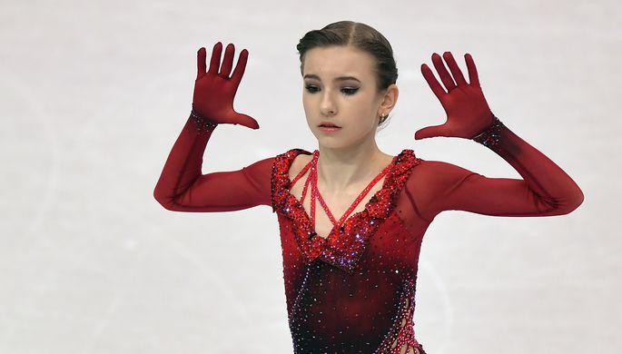 Российская фигуристка Дарья Усачева