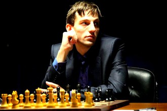 Александр Грищук на этапе Гран-при в ОАЭ