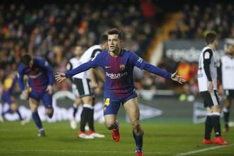Футболист «Барселоны» Филиппе Коутиньо