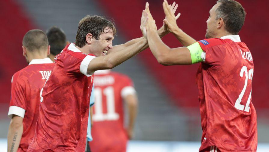 УЕФА назвал ключевых игроков сборной России