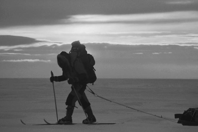 Федор Конюхов на пути к Северному полюсу, 1990 год