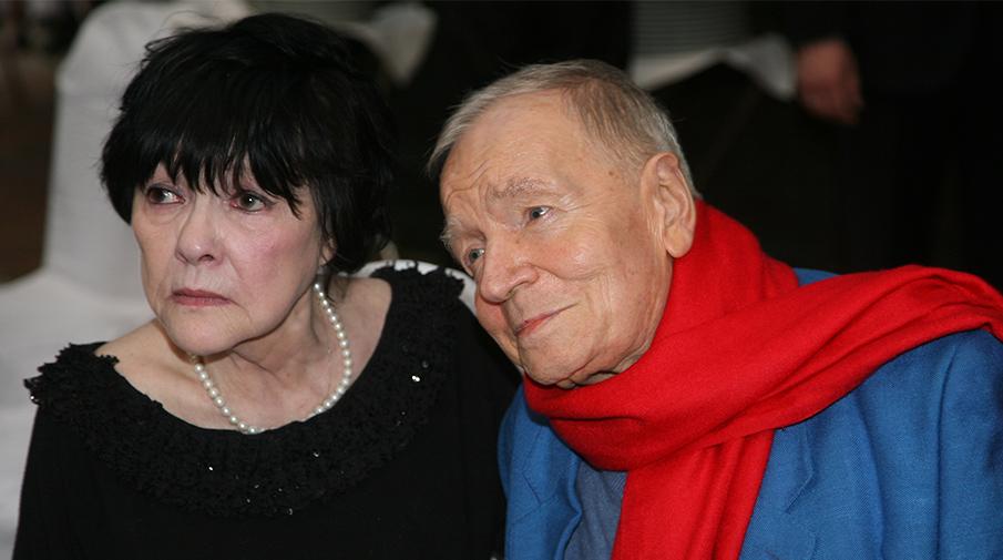 Белла Ахмадулина и Андрей Вознесенский