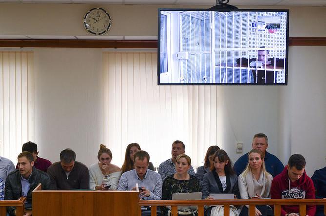 Рассмотрение апелляции на арест футболиста ФК «Краснодар» Павла Мамаева в Московском городском суде, 19 октября 2018 года