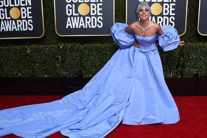 Леди Гага на 76-й церемонии вручения американской кинопремии «Золотой глобус» в Лос-Анджелесе, 7 января 2019 года