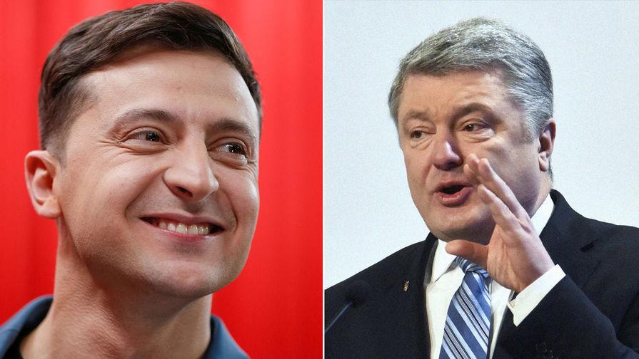 Команда Порошенко захотела провести дебаты с Зеленским в два раунда
