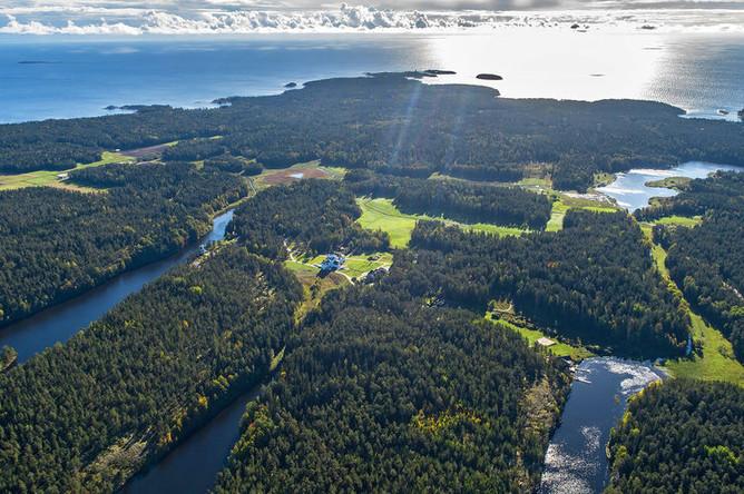 Острова Валаам на Ладожском озере