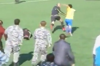 Ливанский футболист избил арбитра за желтую карточку