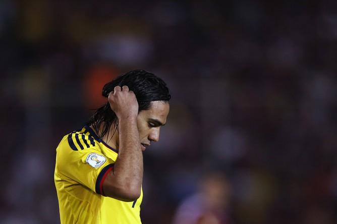 Радамель Фалькао со сборной Колумбии проиграла команде Венесуэлы- 0:1