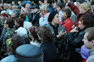 Жители Ульяновска протестуют против строительства отеля на месте парка им. Ульянова