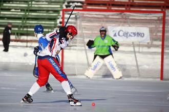 Сборная России одержала вторую победу на чемпионате мира по хоккею с мячом