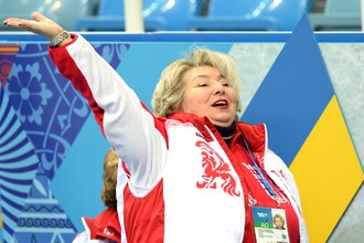 Заслуженный тренер СССР Татьяна Анатольевна Тарасова