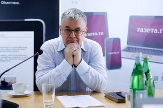 Ректор НИУ ВШЭ Ярослав Кузьминов в ходе онлайн-интервью в редакции «Газеты.Ru»