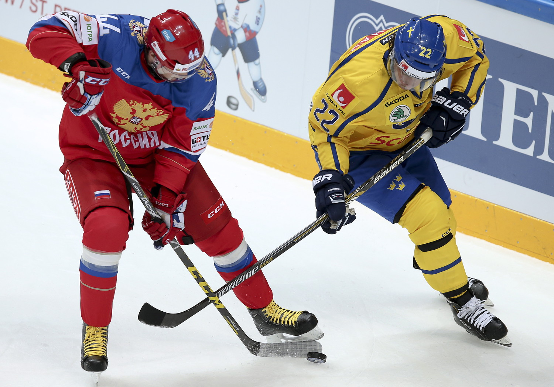 Хоккей Россия  Финляндия  17122017  Еврохоккейтур