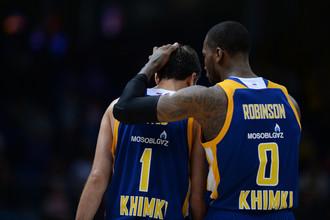 Баскетболисты подмосковных «Химок»
