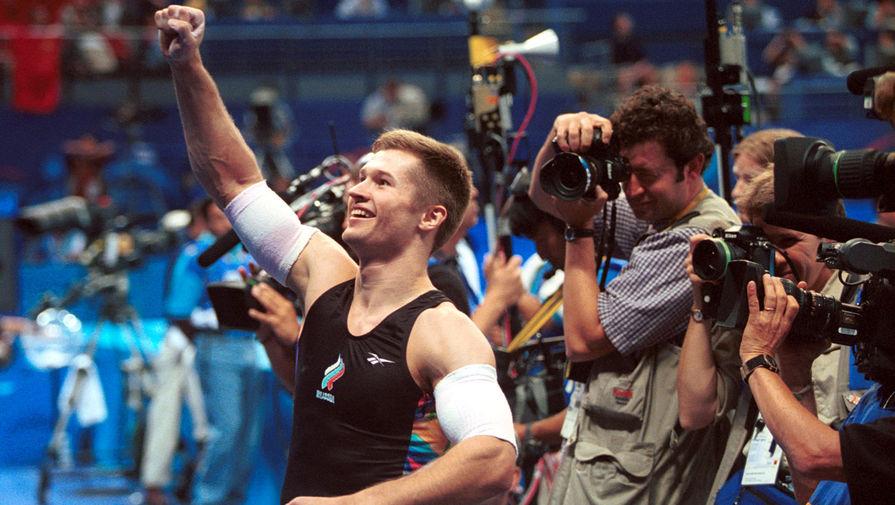 Алексей Немов на Олимпийских играх в Австралии, 2000 год