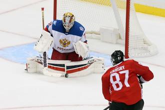 Сергей Бобровский против Сидни Кросби