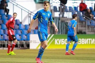 Игрок юношеской сборной Украины по футболу Данила Сикан