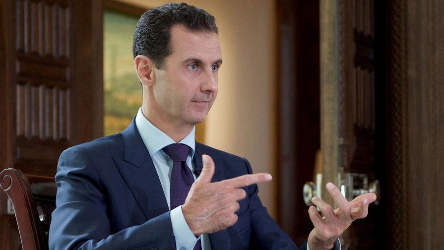 Асад объявил об экономической блокаде Сирии