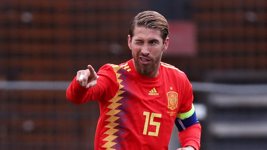 Капитан сборной Испании Серхио Рамос