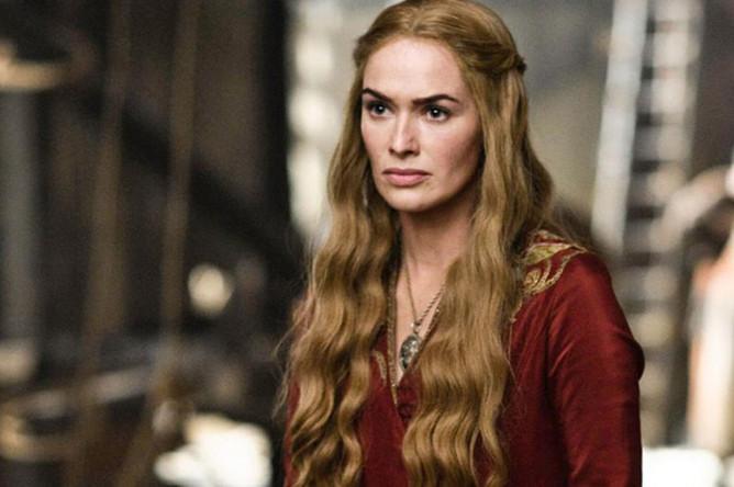 Лина Хиди в роли Серсеи Ланнистер в сериале «Игра престолов»